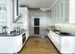 st charles kitchen cabinets: kitchen modern kitchen with white furniture set and parquet floor by st charles of new york