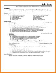 Sample Resume Landscaping Job Resume Municipal Clerk Sample Resume
