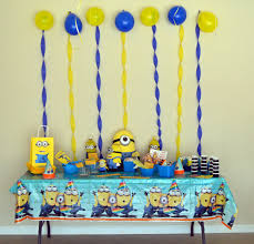 Minion Birthday Party The Best Minion Birthday Party Honeysuckle Footprints