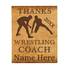 personalized wood wall art wrestling coach gifts on personalized wood wall art with personalized wood wall art wrestling coach gifts zazzle