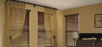 wood blinds and curtains together. Contemporary Curtains Curtains And Wood Blinds With And Together