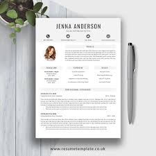 2019 Resume Template Download Fully Editable Ms Word Resume Cv Template 1 3 Page Resume Cover Letter And References For Digital Instant Download