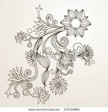 Small Picture The pictures for Flower Pattern Drawing