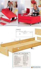 Convertible Desk Bed Best 25 Folding Beds Ideas On Pinterest Fold Clothes