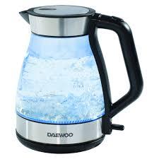daewoo aqua glass kettle 1 8l image 1