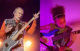 Flea gives his approval of Nandi Bushell's cover of <b>Red Hot Chili</b> ...