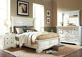 Rustic White Furniture Bedroom Antique White With Pine Top ...
