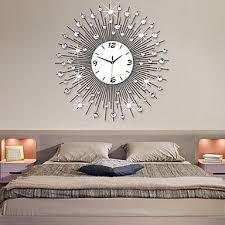 sun like mirror wall clock wall
