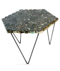 table recycled materials. Eco Chic: ReVision Furniture Table Recycled Materials D