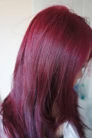 Dark Red Ultra Violet Hair Colour