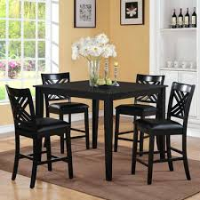 black kitchen table set 5 piece dining table set finish black black friday deals on kitchen