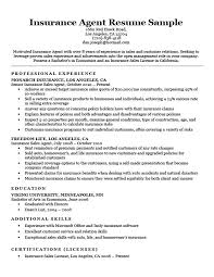 Insurance Resumes Classy Insurance Resume Examples Magiccarouselus