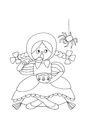 nursery rhymes coloring pages toddlers free rhyme o