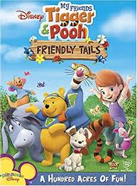 tigger and pooh. Delighful Tigger My Friends Tigger U0026 Pooh  Friendly Tails Inside And Amazoncom