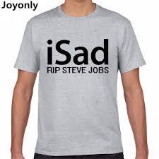 online get cheap summer job com alibaba group joyonly 2017 summer men cotton t shirt letter isad rip steve jobs print t shirt