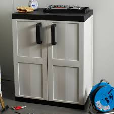 Outdoor Plastic Storage Cabinets With Doors Creative Cabinets - Exterior storage cabinets
