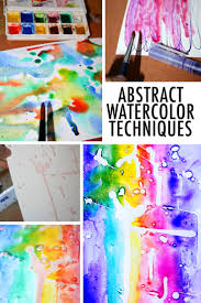 8 funky psychedelic abstract watercolor techniques that are way easier than they look