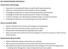 skills and competencies resumes how to write a good cv ambitious about autism