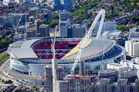 Wembley Stadium in London - The ...
