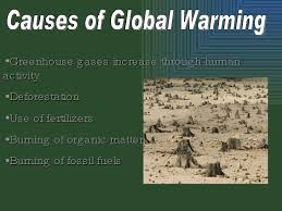 greenhouse effect power point causes