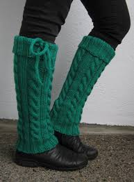 free knitting pattern for hot gams legwarmers