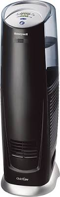 honeywell quietcare uv tower 3 gallon humidifier black hcm 315t honeywell quietcare uv tower 3 gallon humidifier black angle