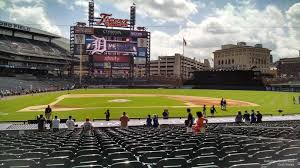 Comerica Park Seating Chart By Rows Detroit Tigers Seating Guide Comerica Park Rateyourseats Com