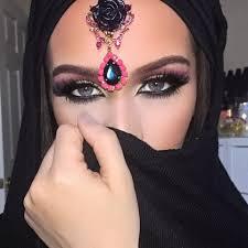 arabic eye makeup dramatic arab style eye makeup tutorial the beauty bel