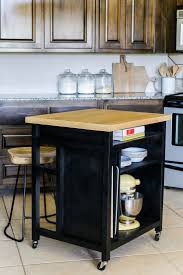 Rolling Kitchen Island 17 Best Ideas About Rolling Kitchen Island On Pinterest Rolling