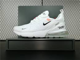 <b>2018 New</b> Arrival OFF WHITE x Nike Air Max 270 <b>Mens</b> Sneakers ...