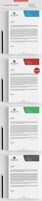 letterhead templates in psd ms word and pdf format corporate letterhead template