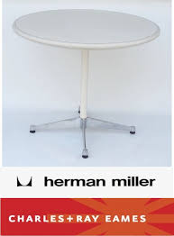herman miller eames iconic collection aluminum group 36 round table for in santa ana ca offerup