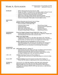 Template 14 Best Of Mechanical Engineering Resume Templates Sample
