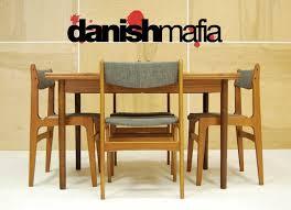 10 danish modern dining room chairs mid century danish modern teak dining plete set table 6
