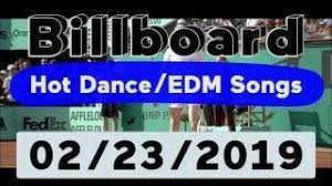 Billboard Top 50 Hot Dance Electronic Edm Songs February 23