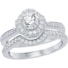 disney enchanted 14k white gold 7 8 ctw diamond and amethyst ariel bridal set