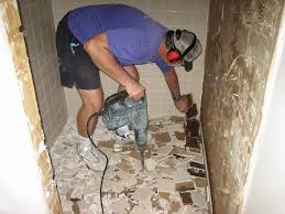 replacing bathroom tile floor remove bathroom floor tiles tile