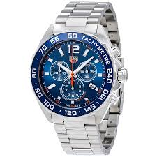 tag heuer formula 1 watches jomashop tag heuer formula 1 blue dial chronograph men s watch