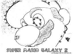Small Picture Nintendo Super Mario Galaxy Coloring Pages Disney Gekimoe 89114