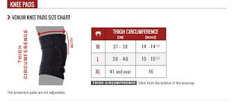 Nike Volleyball Knee Pads Size Chart Venum Kontact Evo Knee Pads