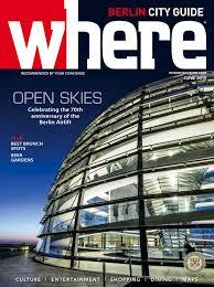 Wheretraveler Berlin June 2019 By Morris Media Network Issuu
