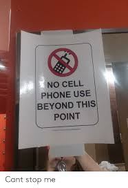 No Cell Phone Sign Printable M6 No Cell Phone Use Beyond This Point Free Printable Signs