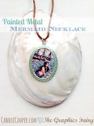 painted metal pendant tutorial by can cooper on the graphics fairy