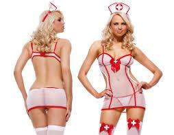 Sexy Sheer Nurse Set, Dress, G String U0026 Hat, Bedroom Dress Up, Fancy Dress