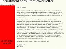education consultant cover letter cover letter recruitment agency recruitment consultant cover ideas
