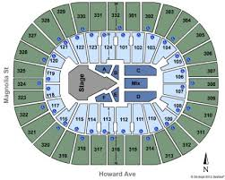 Smoothie King Arena Seating Chart Smoothie King Center Tickets And Smoothie King Center