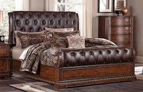 Lane Furniture Bedroom Sets Homelegance Brompton Lane Upholstered Bedroom Set Cherry B1847 1