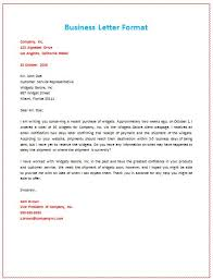 sample of business letter format with letterhead letter format