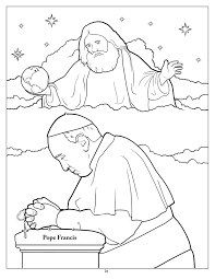 Saint Francis Of Assisi Coloring Pages
