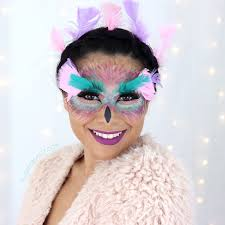 easy fantasy owl makeup tutorial with makeup slashed beauty